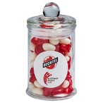 Small Apothecary Jar Filled with Jelly Beans 115g (Mixed or Corporate Colours)