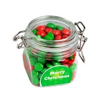 Christmas Chewy Fruits (Skittle Look Alike) In Canister 200G