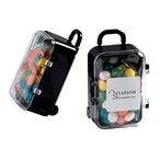 Acrylic Carry-on Case with Chewy Fruits 50g
