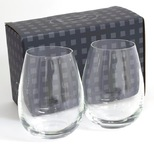 Ariston Stemless Glass Twin Pack