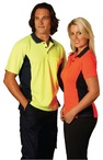 Mens Fashion TrueDry Safety Polo